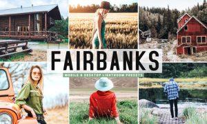 Fairbanks Mobile & Desktop Lightroom Presets