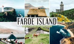 Faroe Island Mobile & Desktop Lightroom Presets
