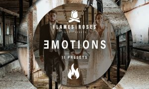 Flames and Roses - Emotions PRESETS LR-ACR