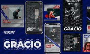 Gracio - Instagram Post and Stories 294DTAB