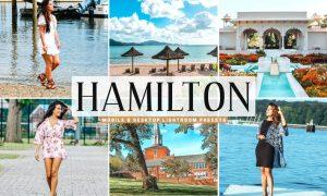 Hamilton Mobile & Desktop Lightroom Presets