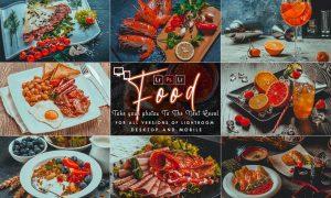 HDR Food Presets (Mobile & Desktop)
