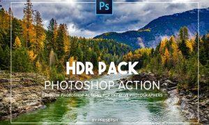HDR Photoshop Actions YZLHUT2