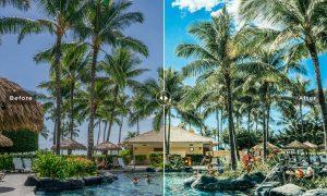 Honolulu Mobile & Desktop Lightroom Presets