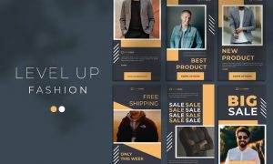 Level Up Fashion - Instagram Stories 44NSW9U