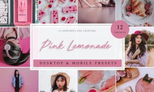 LR Presets | Pink Lemonade 3952516