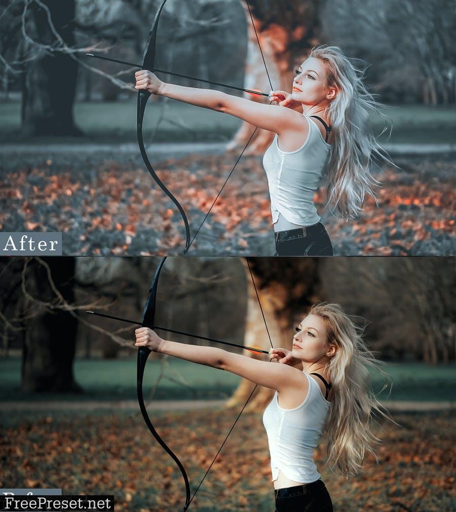 Master Portrait Actions Presets (Mobile & Desktop) DKFFGTV