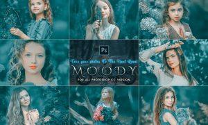 Moody Photoshop Actions JAYWSN6