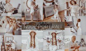 Nude Portrait Presets Lightroom