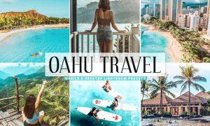 Oahu Travel Mobile & Desktop Lightroom Presets