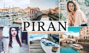 Piran Mobile & Desktop Lightroom Presets