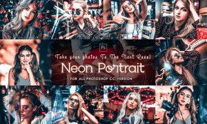 PRO Portrait Photoshop Action 2Y8Y7NV