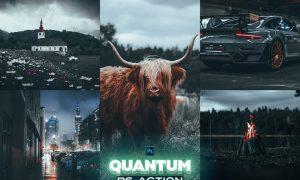 QUANTUM Photoshop Action MECUBXX