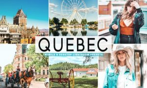 Quebec Mobile & Desktop Lightroom Presets
