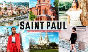 Saint Paul Mobile & Desktop Lightroom Presets