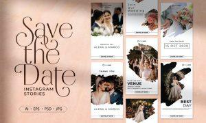 Save The Date Instagram Stories ZUBX2H9