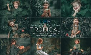 Tropical ( Photoshop Actions and presets ) 28MYUZE