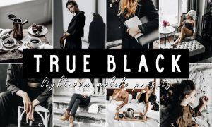 TRUE BLACK LIGHTROOM MOBILE PRESETS 4926931
