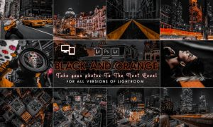 Urban Black AND Orange Presets