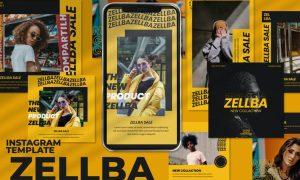 Zellba - Instagram Post and Stories MF9LZ6X