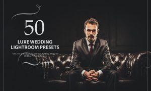 50 Luxe Wedding Lightroom Presets