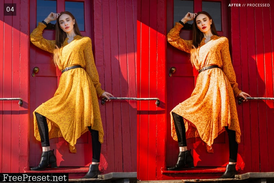 7 Autumn Vibes Lightroom Presets + Mobile