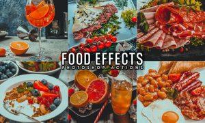 9 Food Blogger Photoshop Actions ET36Y4A