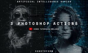 Artificial Intelligence Series Photoshop Actions