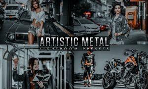 Artistic Metal Lightroom Presets