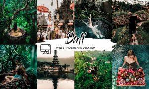 Bali Lightroom Presets 5337033