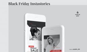 Black Friday Sale Instagram Kit C6QLXPB