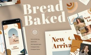 Bread Baked Instagram Pack XX82GVF
