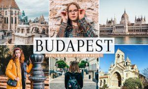 Budapest Mobile & Desktop Lightroom Presets