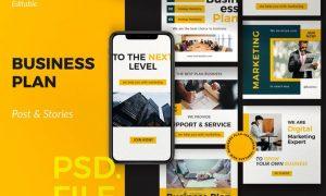 Business Plan - Post & Story Instagram Vol. 1 LFYGBB