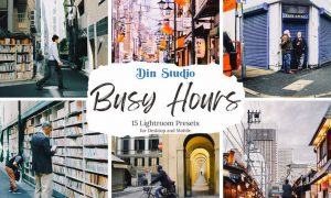 Busy Hours Lightroom Presets