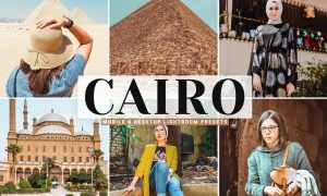 Cairo Mobile & Desktop Lightroom Presets