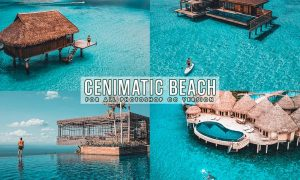 Cinematic Beach Photoshop Actions XEVBUL6