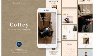 COLLEY Instagram Posts & Stories VM4AH3T