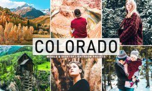 Colorado Mobile & Desktop Lightroom Presets