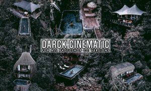 Dark Cinematic Photoshop Action KRAZYVW