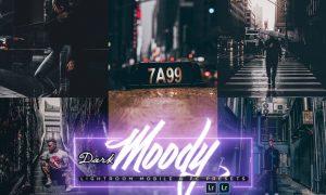 Dark Moody Lightroom Mobile & PC Presets