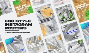 Eco Style Instagram Posters DRL8XDA