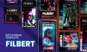 Filbert Neon Instagram Post Stories EQ8JDH3