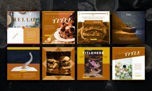 Food Social Media Pack 3 AQQRPK3