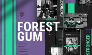 Forest Gum Gym Insta Set 7R4WHBN