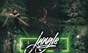 Green Jungle Lightroom Mobile & PC Presets