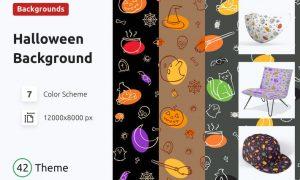 Halloween Seamless Pattern P4THFBP