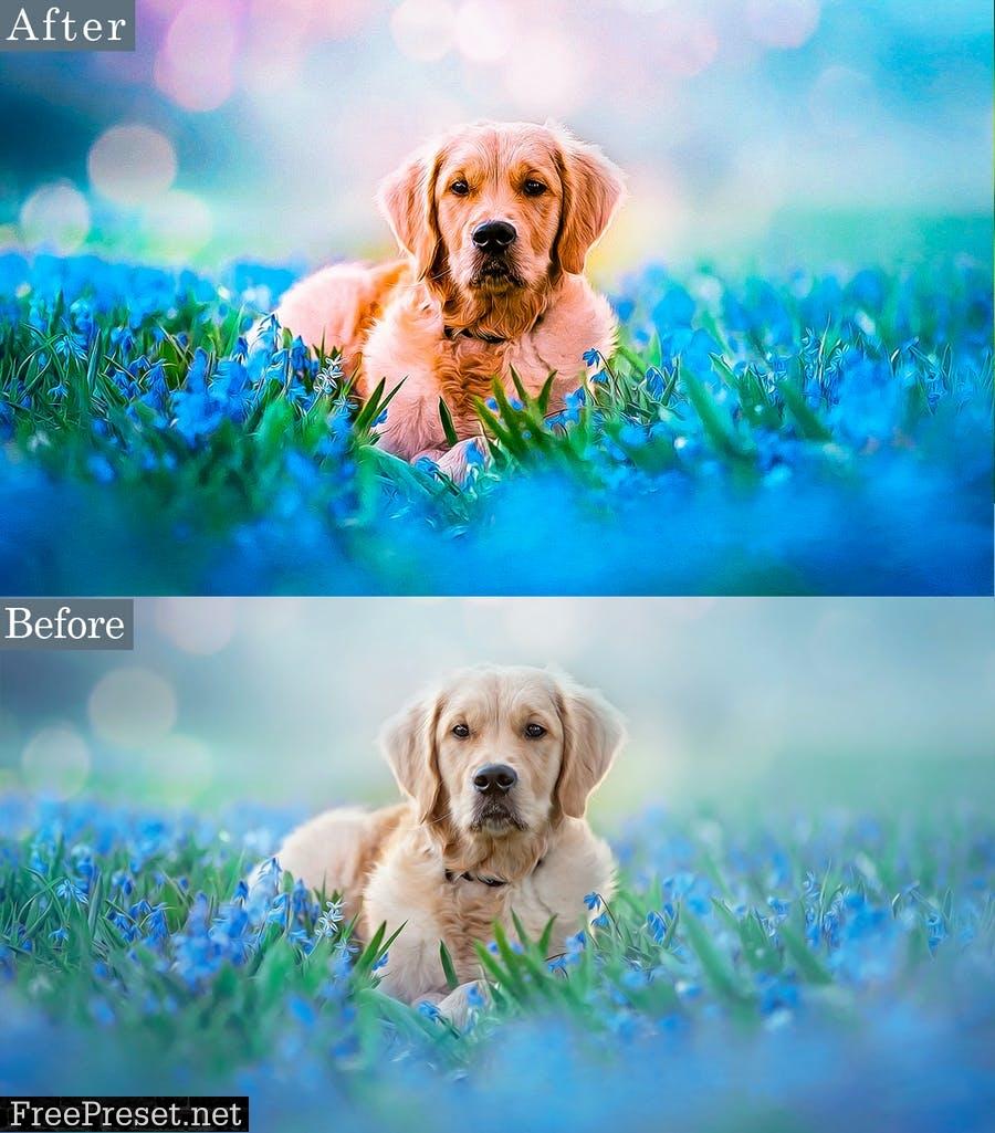HDR Animal Photoshop Actions SUV44KZ