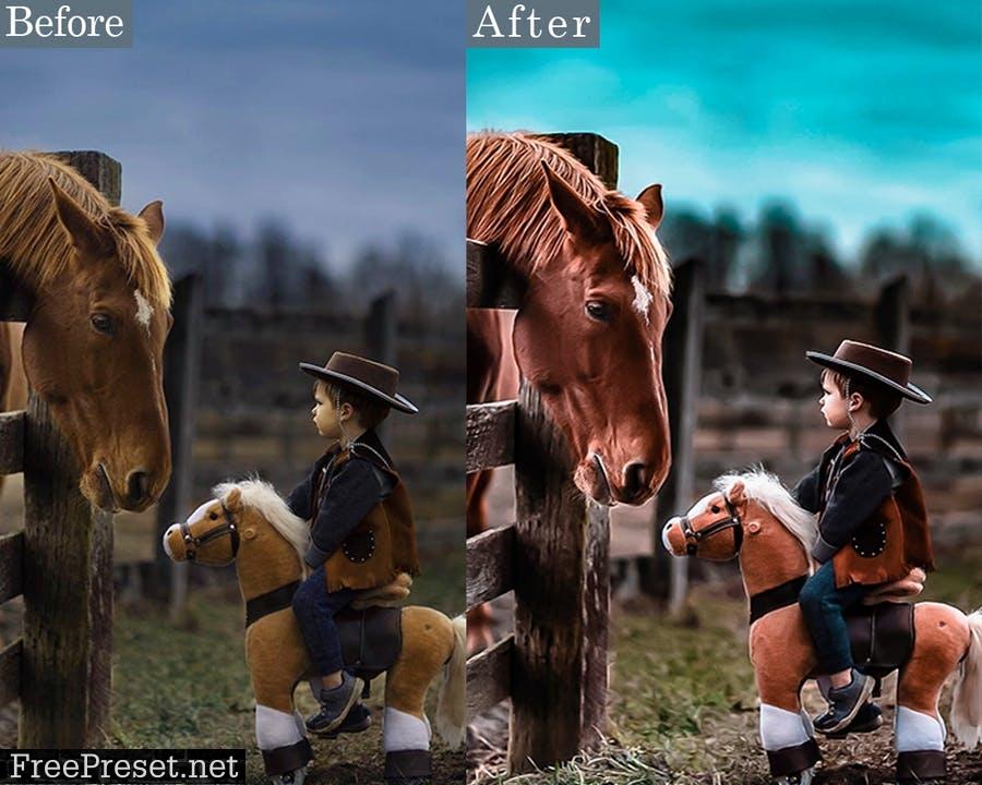 HRD Portrait Photoshop Actions HW5Q523