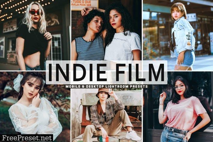 Indie Film Mobile & Desktop Lightroom Presets